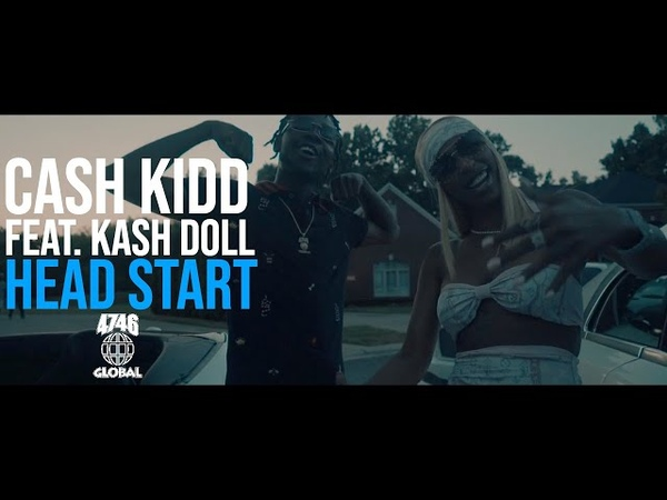 Cash Kidd feat. Kash Doll - Head Start [produced by Sledgren] (Official Music Video)
