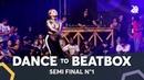 BOUBOO vs IBUKI IMATA feat. COSTIK STORM K-POM | Dance Battle To The Beatbox 2018 | SEMI Final