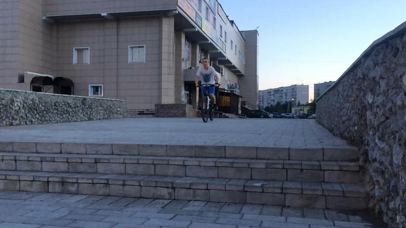 вспоминаем что такое велосипед, пока KDX в гараже