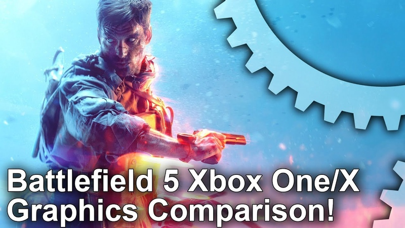 [4K] Battlefield 5: Xbox One vs X Graphics Comparison Frame-Rate Test!
