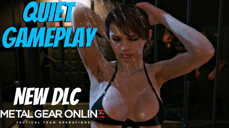 Metal Gear Solid 5 - Quiet Gameplay (MGO NEW DLC Cloaked In Silence)