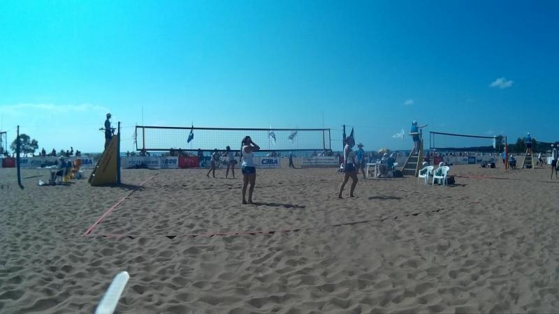 Beach volley Russia Solnechnoe 2018 W 07 Soldatova-Vasilyeva and Varlamova-Savina
