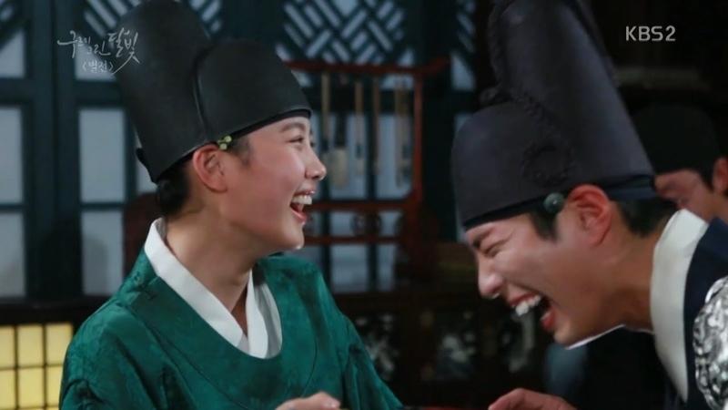 구르미 촬영, 웃긴 에피소드 NG 박보검.김유정