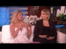 Кейт и Голди на шоу Эллен Дедженерес