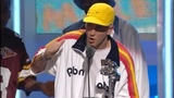 Eminem at the MTV VMA 2002 HD Cristina Aguilera presents