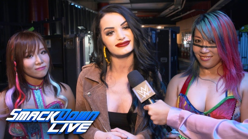 Paige explains why Asuka Kairi Sane joined forces: SmackDown Exclusive, April 16, 2019