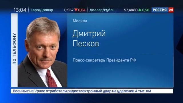 Новости на Россия 24 Кремль обеспокоен допросом российских журналистов в ФБР