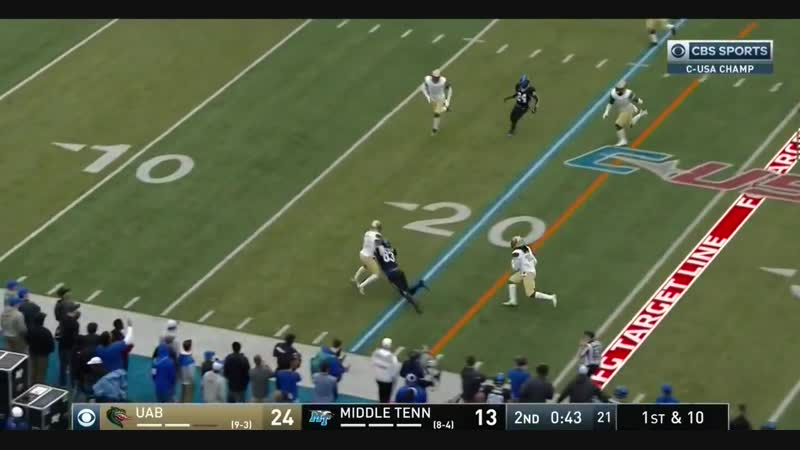 NCAAF 2018 Week 14 CUSA Championship UAB at Middle Tennessee
