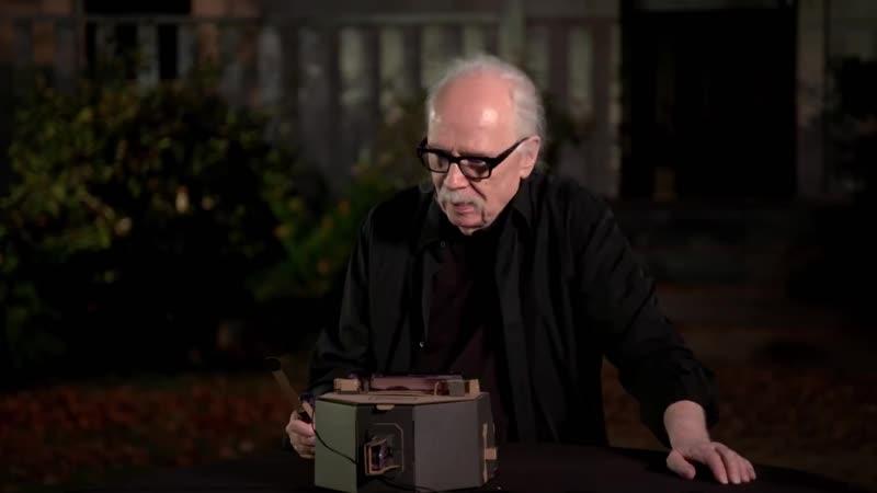 Джон Карпентер играет на Nintendo Labo