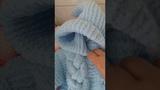 Безшовный детский вязаный комбинезон пряжа Ализе софти