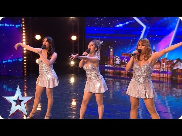 SEX BOMBS Miss Tres surprise everyone with SIZZLING performance Auditions BGT 2018