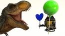 🦕🦖 Мультики для детей про динозавра Рекса,Монстр-трак,робота и цвета.