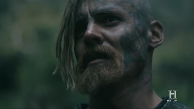 Песня Викингов перед боем (Vikings s05e10) - Конунг Харальд и Хальвдан - King Harald and Halfdan.mp4