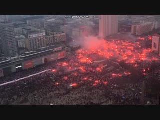 Марш Независимости в Польше