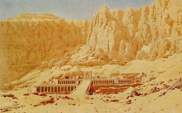 Египет в акварелях Augustus Osborne Lamplough.