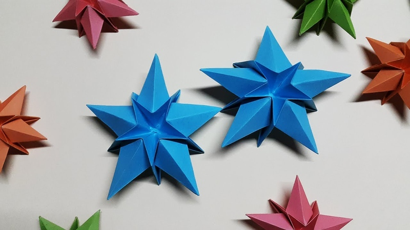 Easy Paper Star for Christmas Decoration | How to make a Paper Star step by step