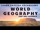 World Geography in English: Australia
