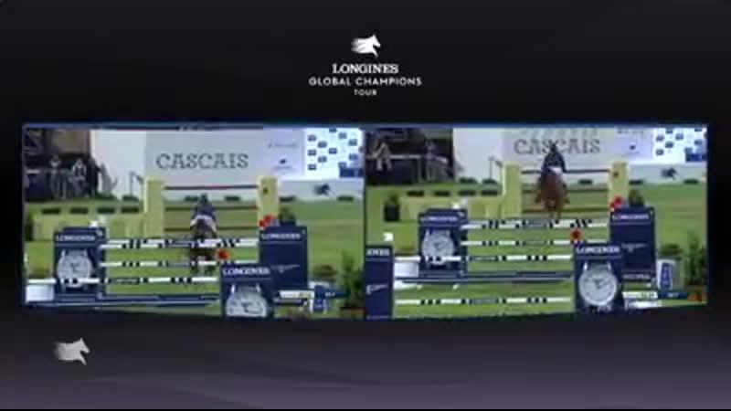 Longines Global Champions Tour перепрыжка Мартин Фукс и Бен Майер