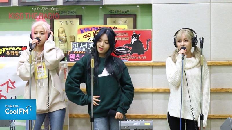 AOA 크림(CREAM) '질투나요 BABY' 라이브 LIVE / 160212[슈퍼주니어의 키스 더 라디오]