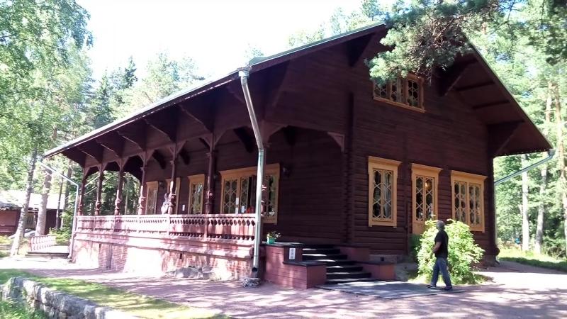 Рыбацкий домик Императора Александра третьего в Лангинкоски, Kotka, Finland