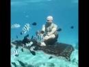 Йога под водой