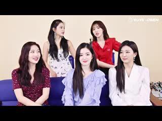 190507 Red Velvet @ V HEARTBEAT Waiting Room Interview