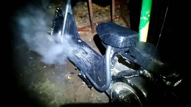 LiKE.Bike ZERO ГОРИТ!(Внимание-электроскутеры опасны!)1 часть