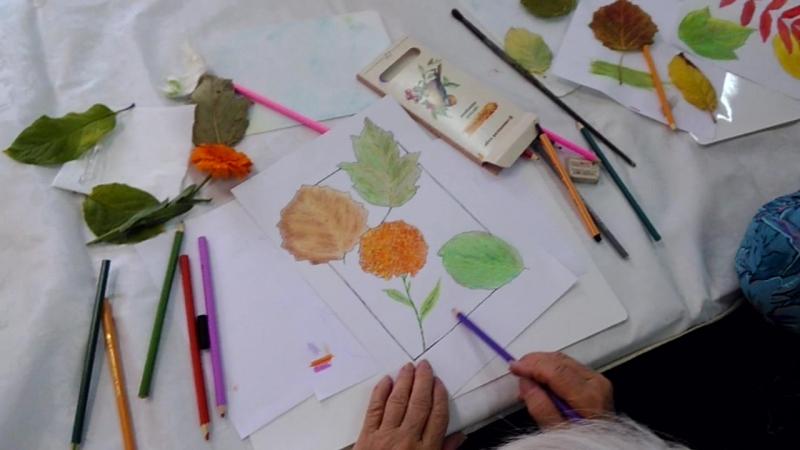 Интуитивное рисование 16.09.2017