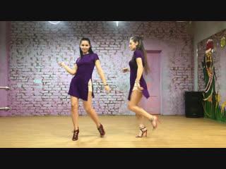 Kizomba Lady Style  Ольга Крячко и Алена Осляк