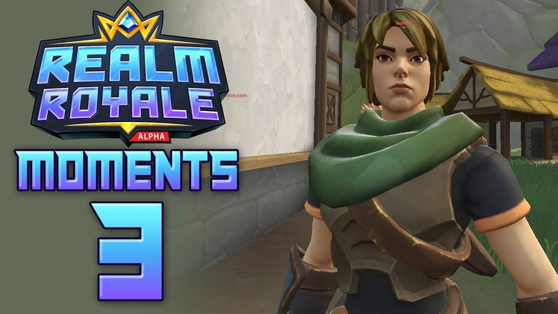 REALM ROYALE Funny Fails and WTF Moments 3