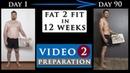 Male BODY TRANSFORMATION fat to fit FOLLOW ALONG   Preparation