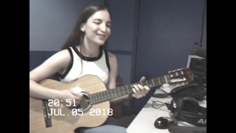 Марьям Боташева на Радио Маяк — Kiss me — Sixpence None the Richer cover