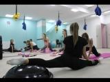 Испытание Армана в студии фитнеса и танцев