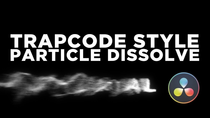 Awesome Trapcode Style Dissolve Effect - Davinci Resolve 15 Fusion Tutorial (macro download)