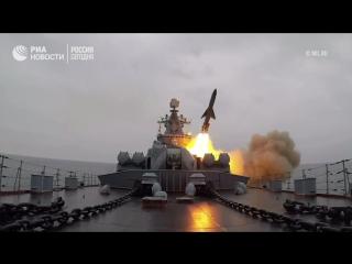 Минобороны показало видео пусков крылатых ракет Оникс