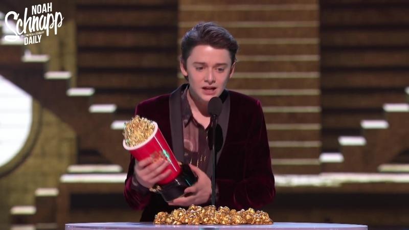Русские субтитры › Ноа на премии «MTV Movie TV Awards» › 18 июня 2018