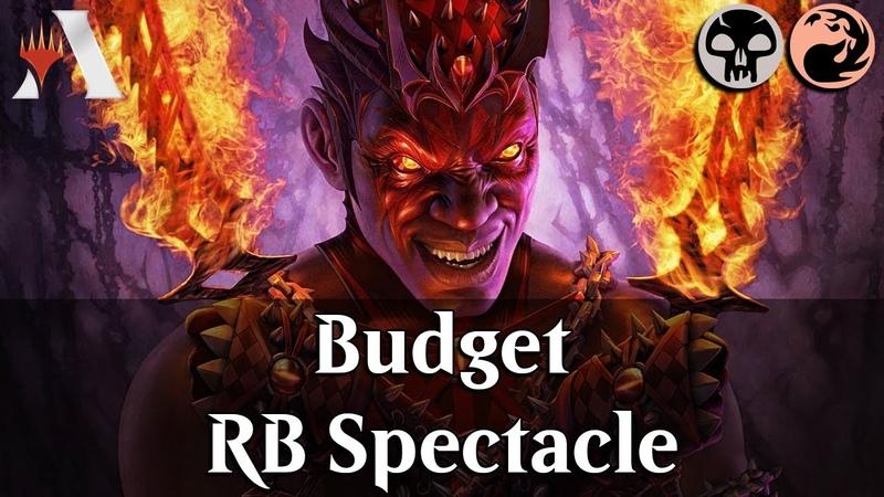 MTG Arena RNA | Rakdos Spectacle Budget DeckTech Gameplay [Party]