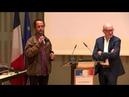 Remise du prix de la Licra 2017 à Cédric Herrou