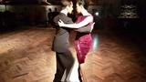 Kei Asegawa, German Landeira 2019.4. 29 Salon Canning, milonga Parakultural, tango en Buenos Aires