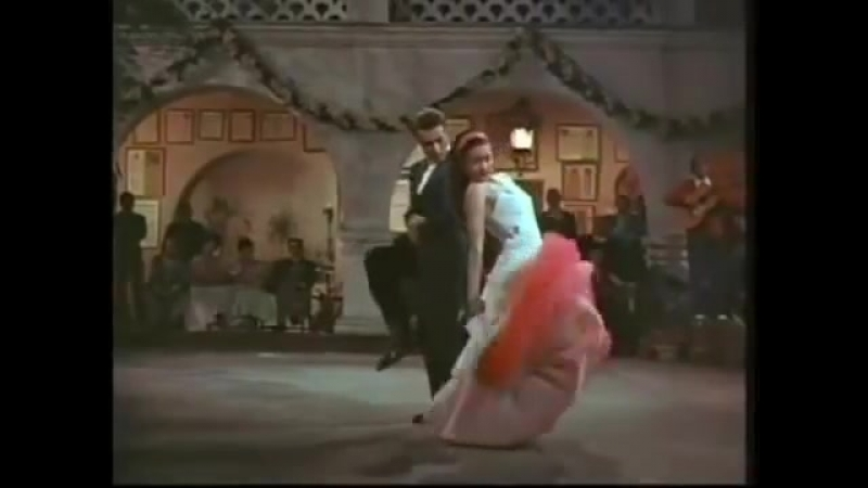 Fantastic Duo. |Cyd Charisse and Ricardo Montalban|