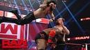 Triple Threat Match Seth Rollins Dean Ambrose Lashley WWE RAW 14 January 2019