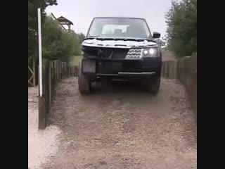 Тестовая модель Range Rover 🚙