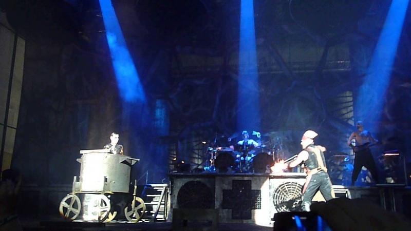 Rammstein - Live in Wolfsburg @ Kraftwerk 04.05.2013 - Mein Teil
