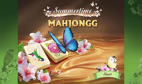 Летнее время Маджонг | Summertime Mahjong (En)