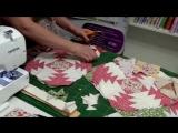 Tia Lili Patchwork Bloco Abacaxi (Pineapple Block) - com projeto gratis!