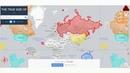 Реальные размеры материков и стран. Во сколько раз Россия больше Китая!?