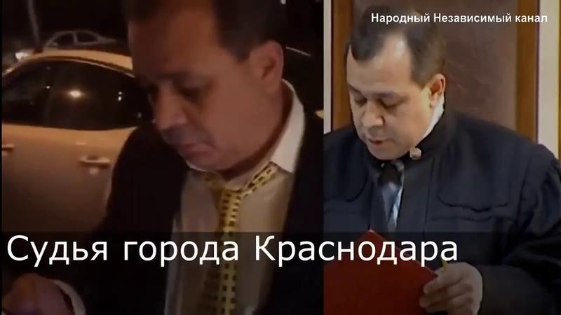 Cудья Краснодара А Крикоров, находясь пьяным за рулём, сбил 18 летнюю девушку и пытался скрыться