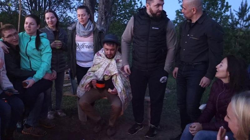 Пикник в районе Соколовки 16.06.2018. Караоке - Не вешать нос, гардемарины