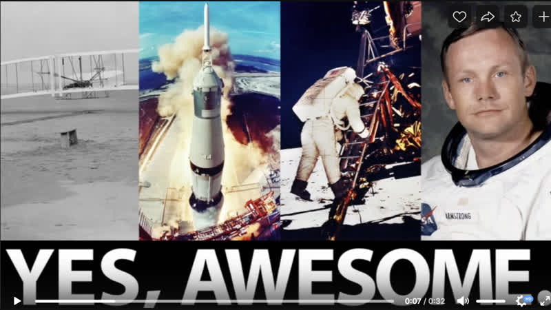 Let's put the AWE back in AWESOME