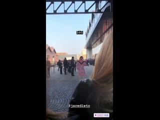 20.02.2019   Джаред прибыл на модный показ Gucci   Милан, Италия
